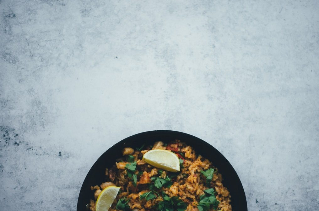 Whole30 Spanish Cauliflower Rice