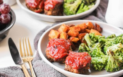 Whole30 Mini Meatloaves