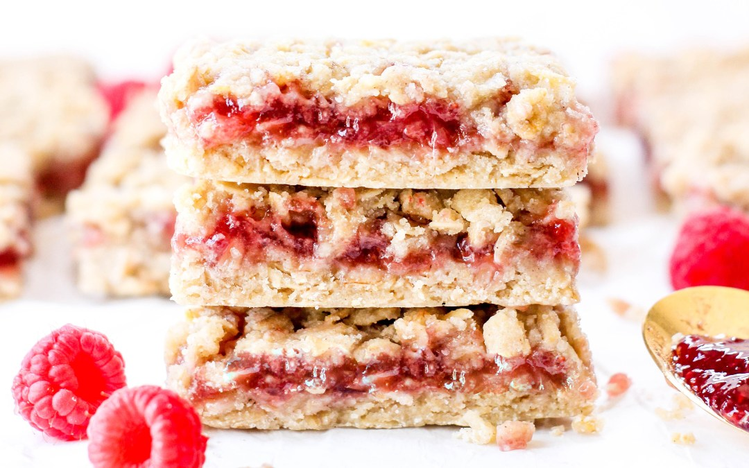 5-Ingredient Raspberry Bars