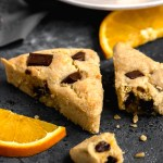 Paleo Orange Chocolate Scones