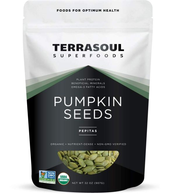 Terrasoul Superfoods Organic Pumpkin Seeds