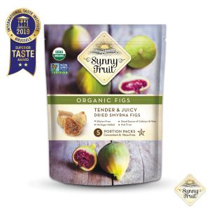 ORGANIC Turkish Dried Figs - Sunny Fruit - 40oz Bulk Bag