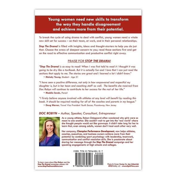 Stop The Drama! The ultimate guide to female teams Paperback