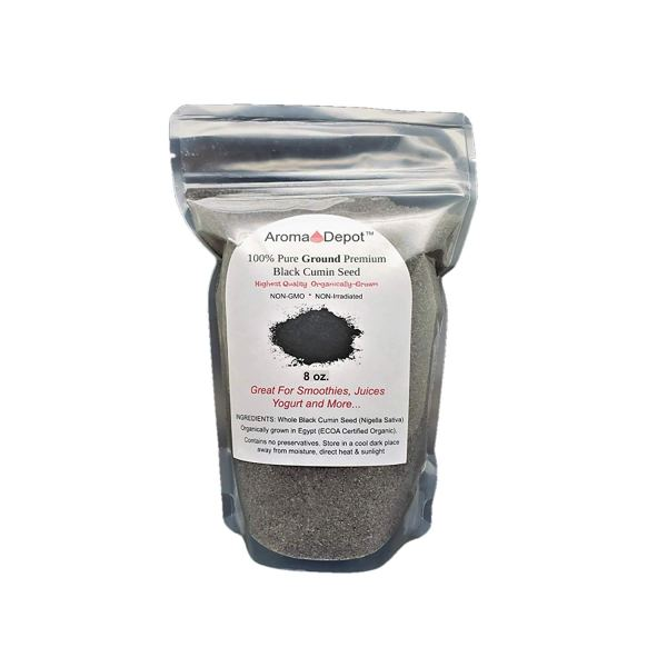 Aroma Depot 8 oz Black Seed Powder ,GROUND