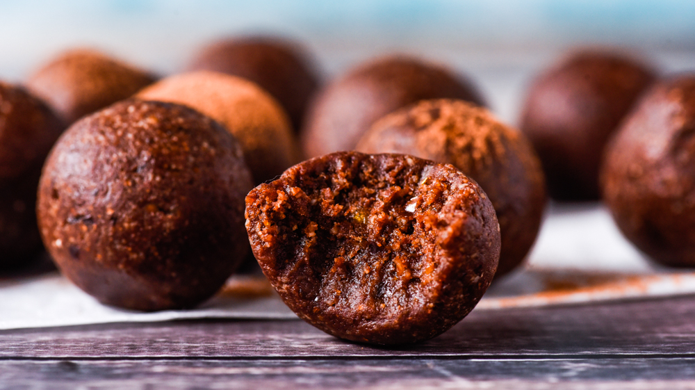 Quick and Easy Liquorice Bullet Bliss Balls