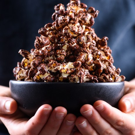 chocolate pop corn