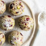 Cranberry and Pistachio Bliss Balls
