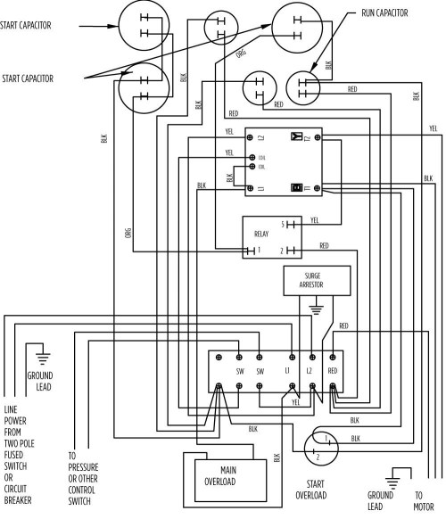 small resolution of 2 wire submersible well pump wiring diagram well pump control box wiring diagram awesome wonderful