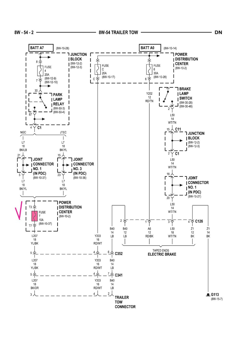 medium resolution of 2003 dodge ram 2500 trailer wiring diagram 2008 dodge ram 1500 trailer brake wiring diagram