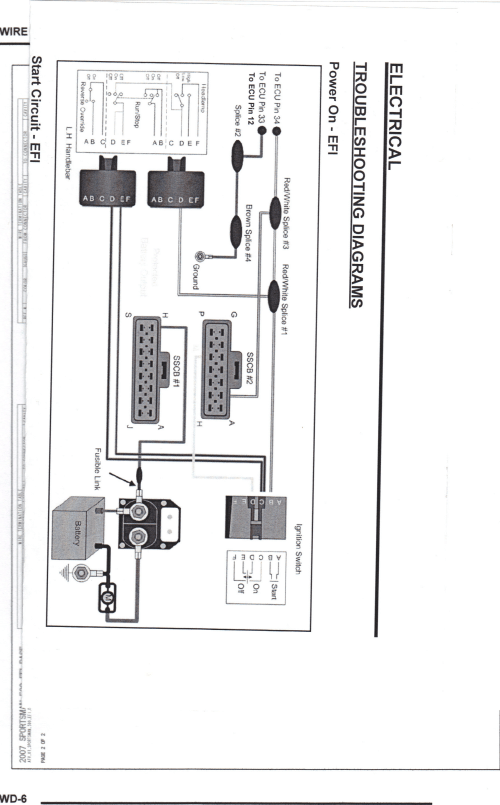 small resolution of 2005 polaris sportsman 500 ho wiring diagram schematic diagrams rh ogmconsulting co ho ballast wiring diagram