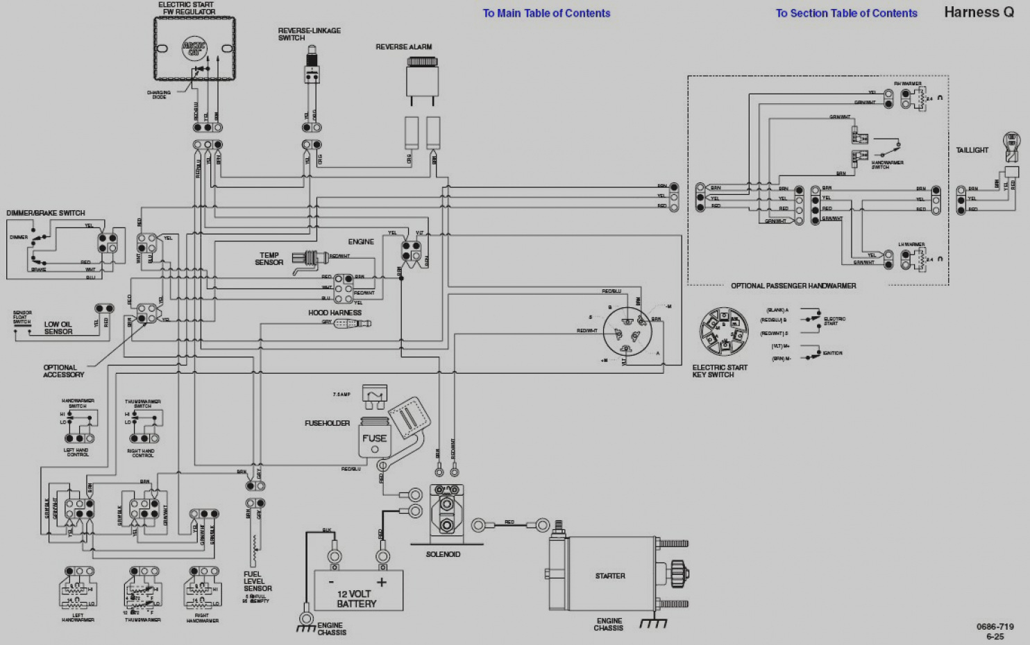 Polaris Ranger Wiring Schematic Xp 800 Parts Wiring