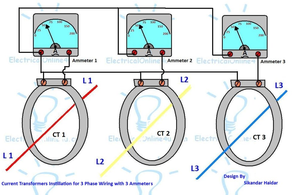 medium resolution of 3 phase current transformer wiring diagram collection rating electric meter diagram 3 phase current transformer wiring