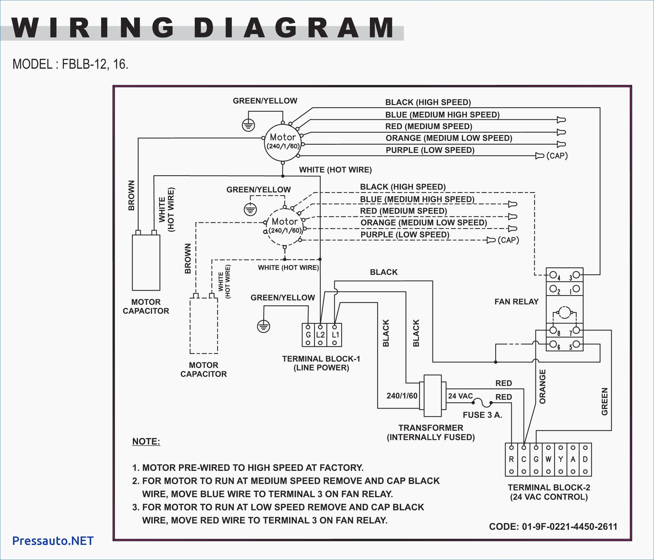 240 Volt 3 Phase Wiring Diagram
