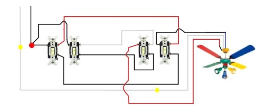 small resolution of 3 way fan switch wiring diagram 3 way switch wiring diagram for ceiling lights data