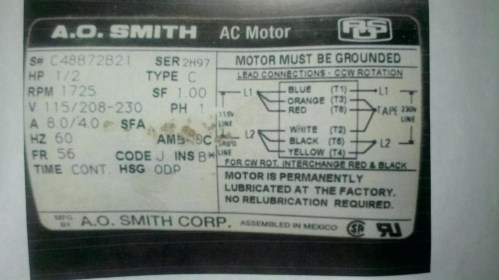 small resolution of ao smith electric motor wiring diagram ao smith pool pump motor parts diagram century