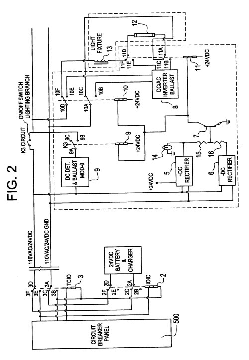 small resolution of bodine led wiring diagram wiring diagram database fluorescent emergency ballast