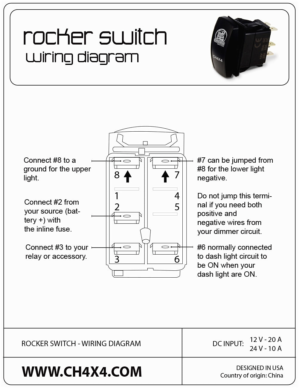 carling technologies rocker switch wiring diagram three way electrical schematic all contura lighted