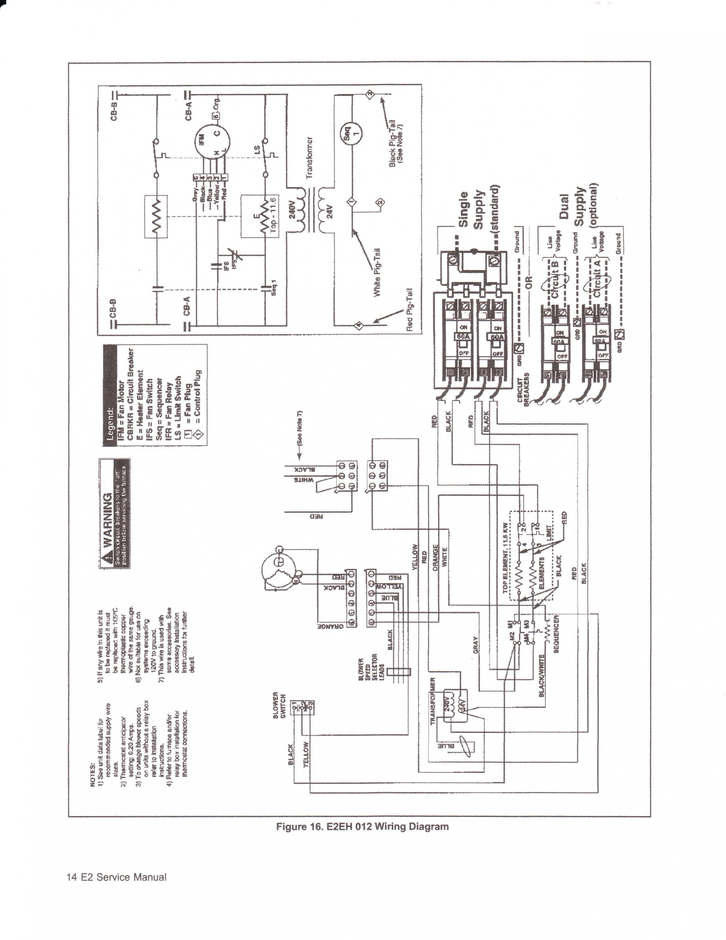 Coleman Electric Furnace Wiring Diagram Download