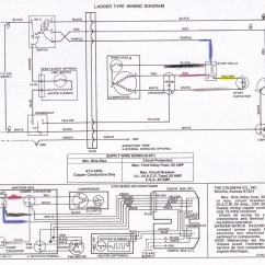 Air Conditioner Thermostat Wiring Diagram Split System Coleman Rv Collection