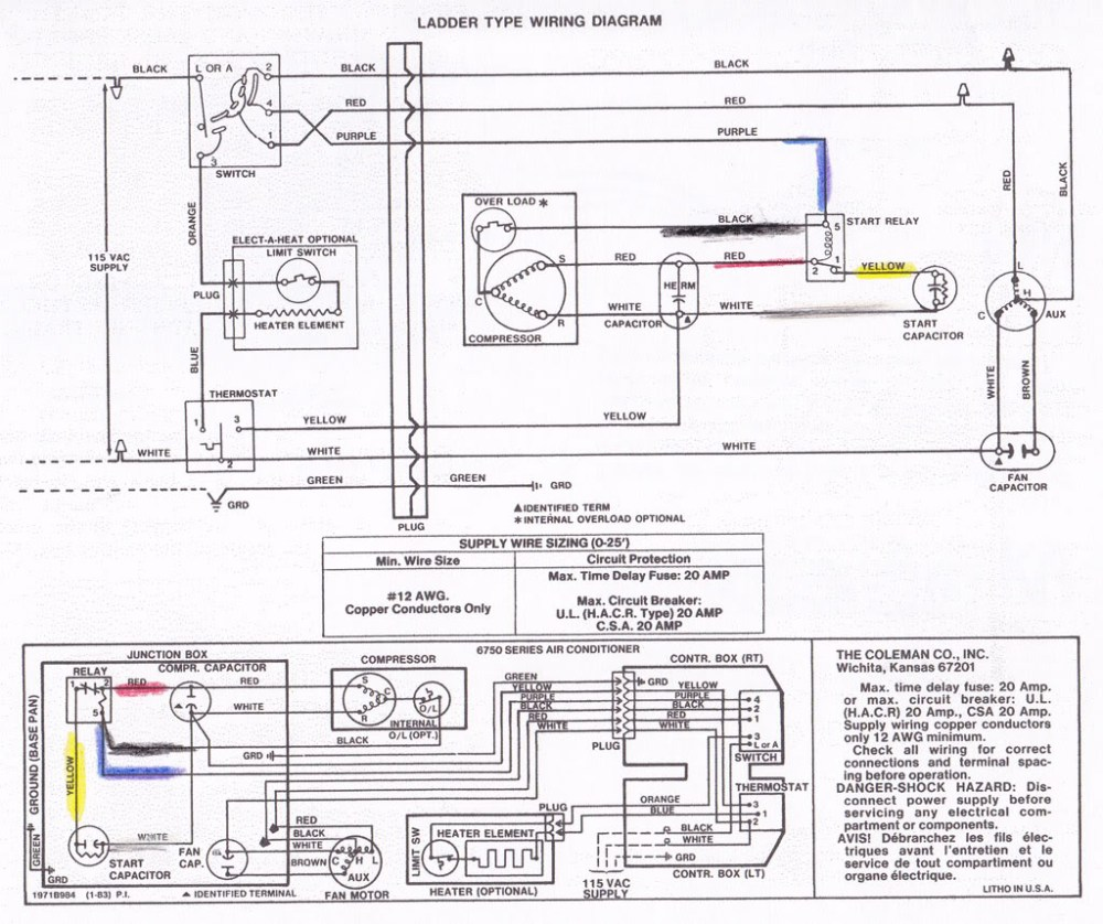 medium resolution of coleman rv air conditioner wiring diagram coleman rv air conditioner wiring diagram unique excellent coleman
