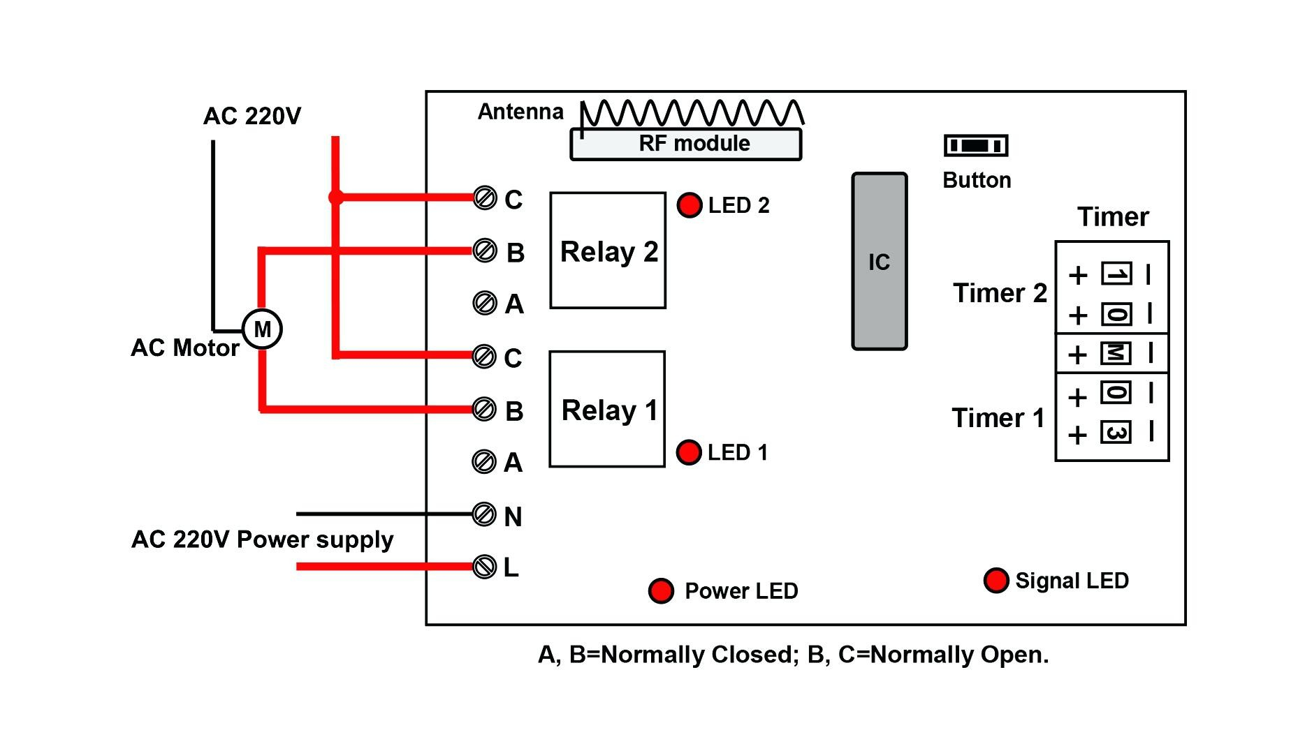 off delay timer wiring diagram dali led driver dayton collection