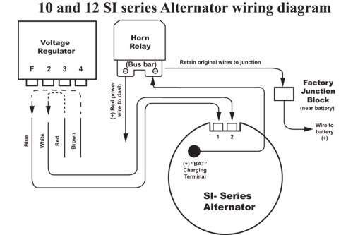 small resolution of delco 12si alternator wiring diagram downloaddelco 12si alternator wiring diagram