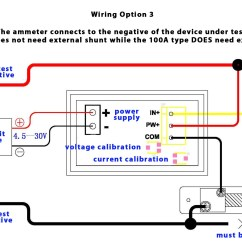 Digital Meter Wiring Diagram 2001 Toyota Camry Engine Volt Amp Gallery