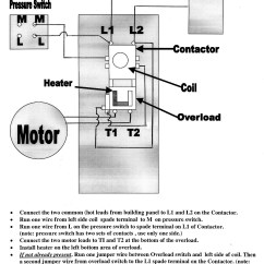 Contactor Wiring Diagram Problems Leeson Electrical Download