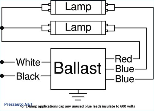 small resolution of electronic ballast wiring diagram 2 lamp ballast wiring diagram unique 13d