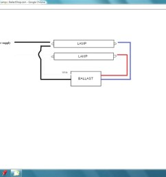 t12 ballast wiring diagram 1 lamp and 2 lamp t12ho magnetic t12 wiring ballast r2e7553tp [ 1440 x 810 Pixel ]