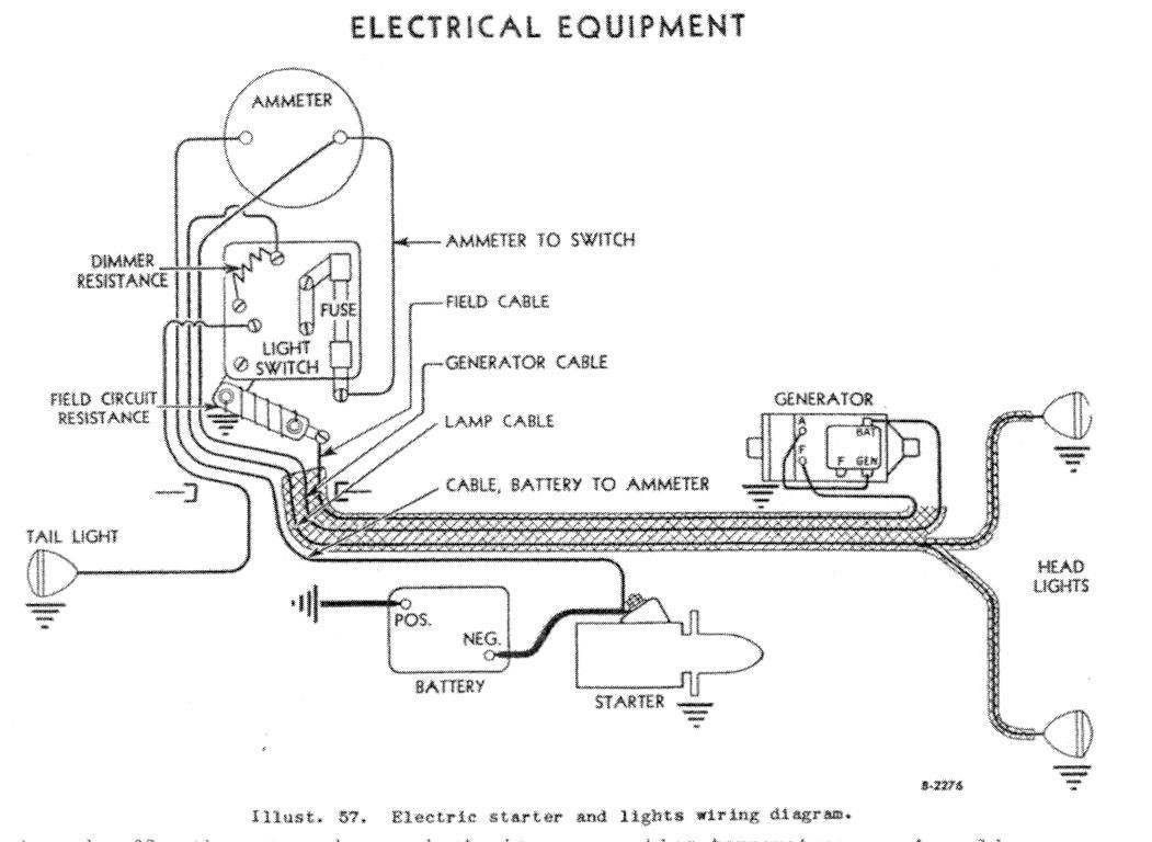 Farmall M Wiring Harness Diagram Sample