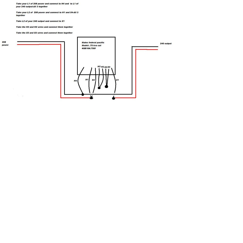 medium resolution of federal pacific buck boost transformer wiring diagram federal pacific transformer wiring diagram example electrical 12m