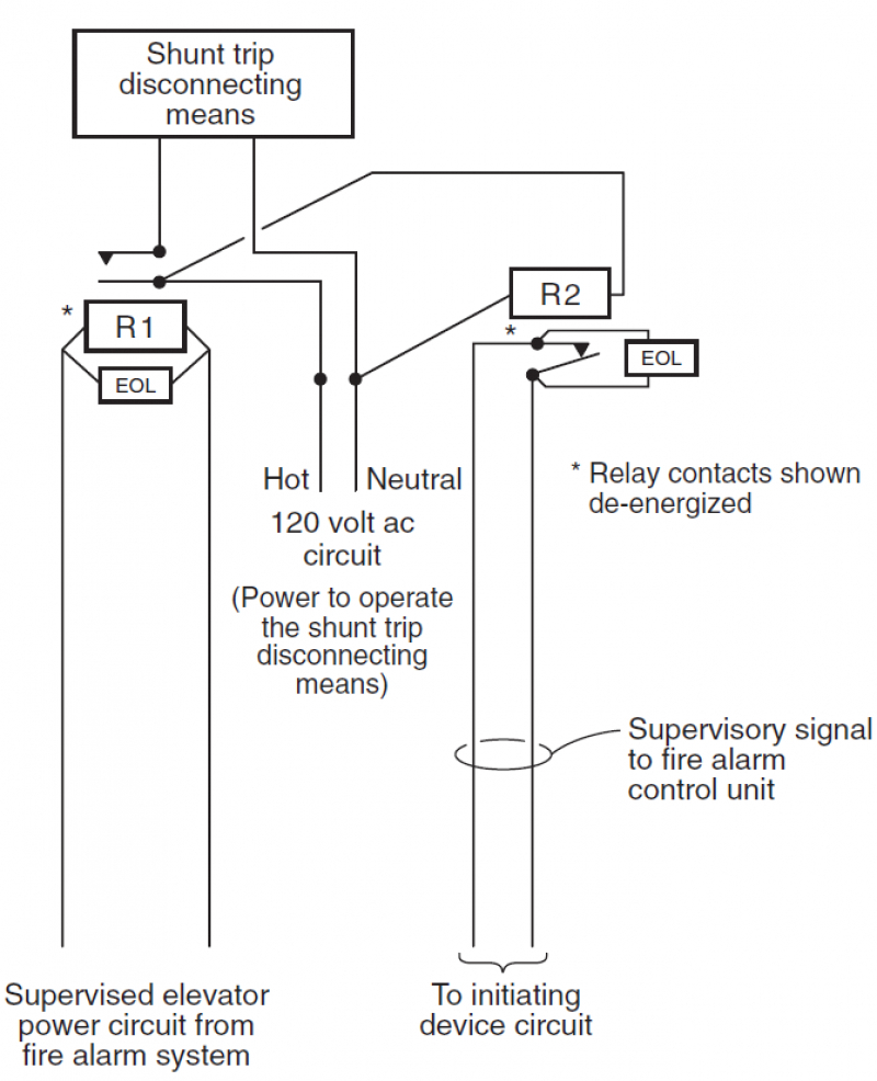 hight resolution of fire alarm elevator recall wiring diagram unique wiring diagram for siemens fire alarm shunt trip