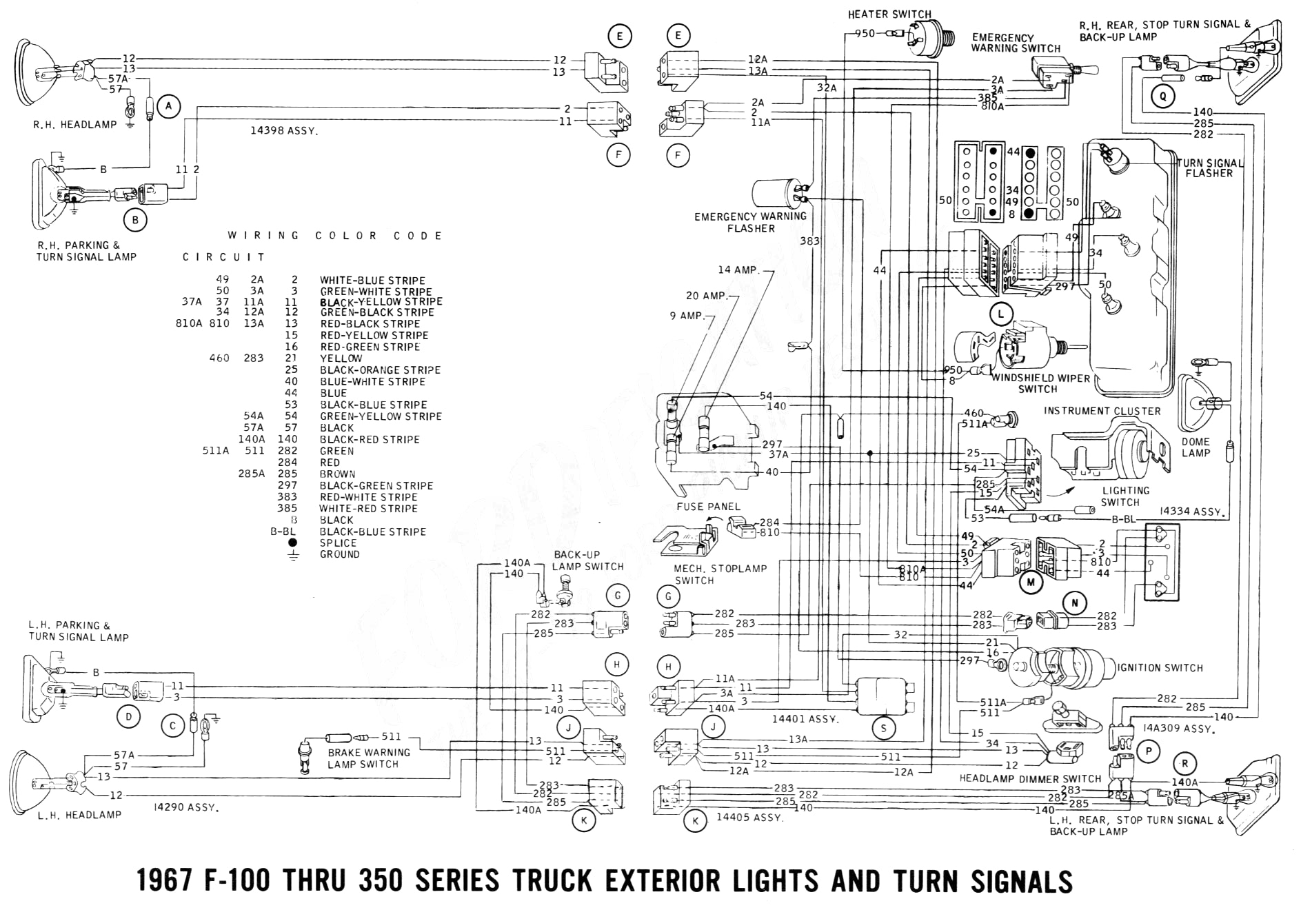 Ford F350 Wiring Diagram