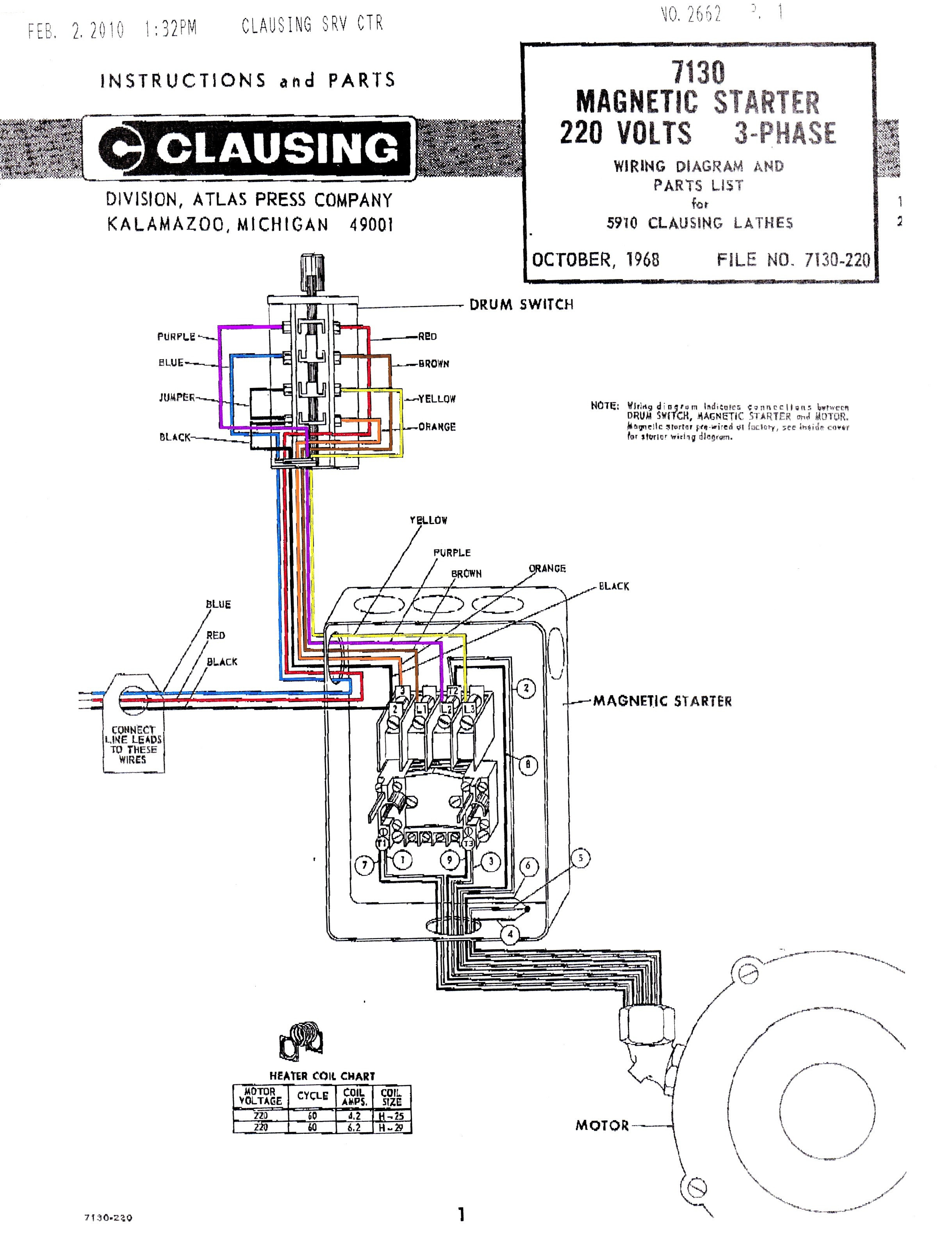 3 phase starter connection diagram woodworking  3 phase starter wiring diagram for 120v #11