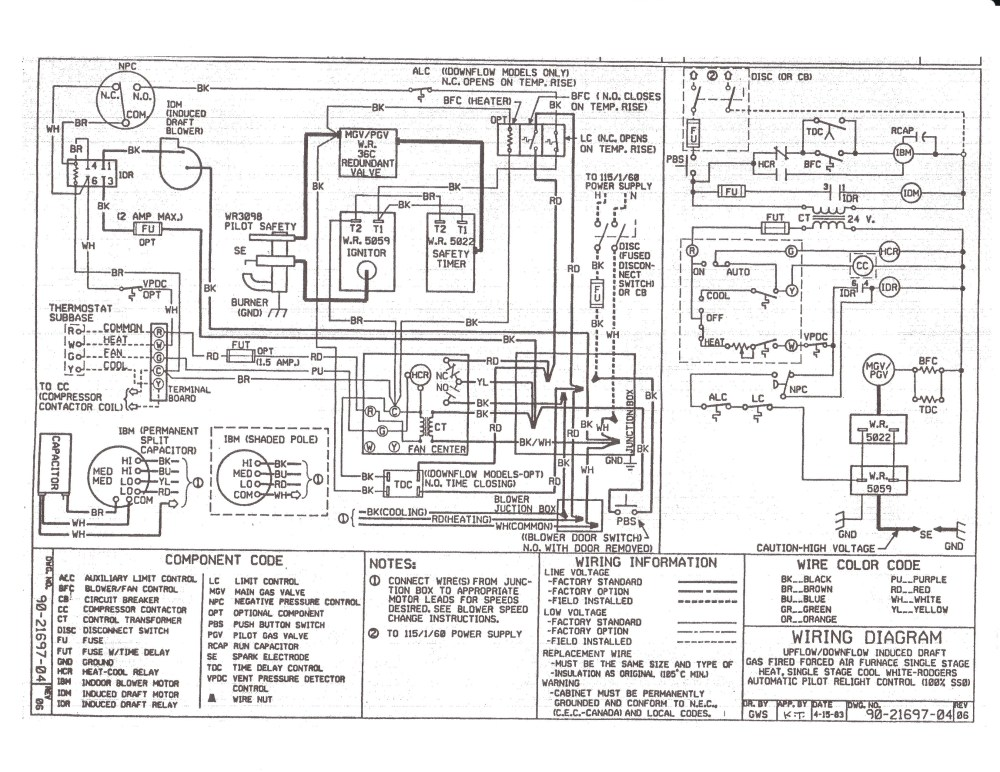 medium resolution of  gas furnace wiring diagram download on gas valve wiring diagram coleman rv furnace wiring diagram