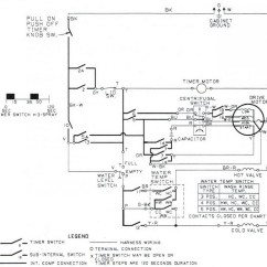 Clothes Dryer Wiring Diagram Msd 6al To Hei Ge Timer Sample