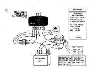 Hampton Bay Ceiling Fan Capacitor Wiring Diagram Sample