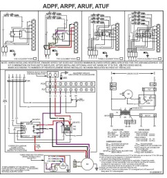 heating and cooling thermostat wiring diagram thermostat wiring diagram for goodman heat pump free download goodman furnace thermostat wiring chromatex [ 982 x 1023 Pixel ]