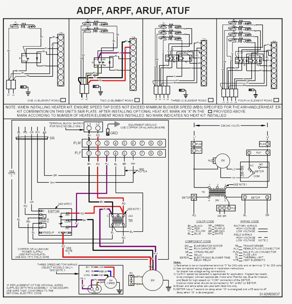 Ac Furnace Blower Motor Wiring Diagram
