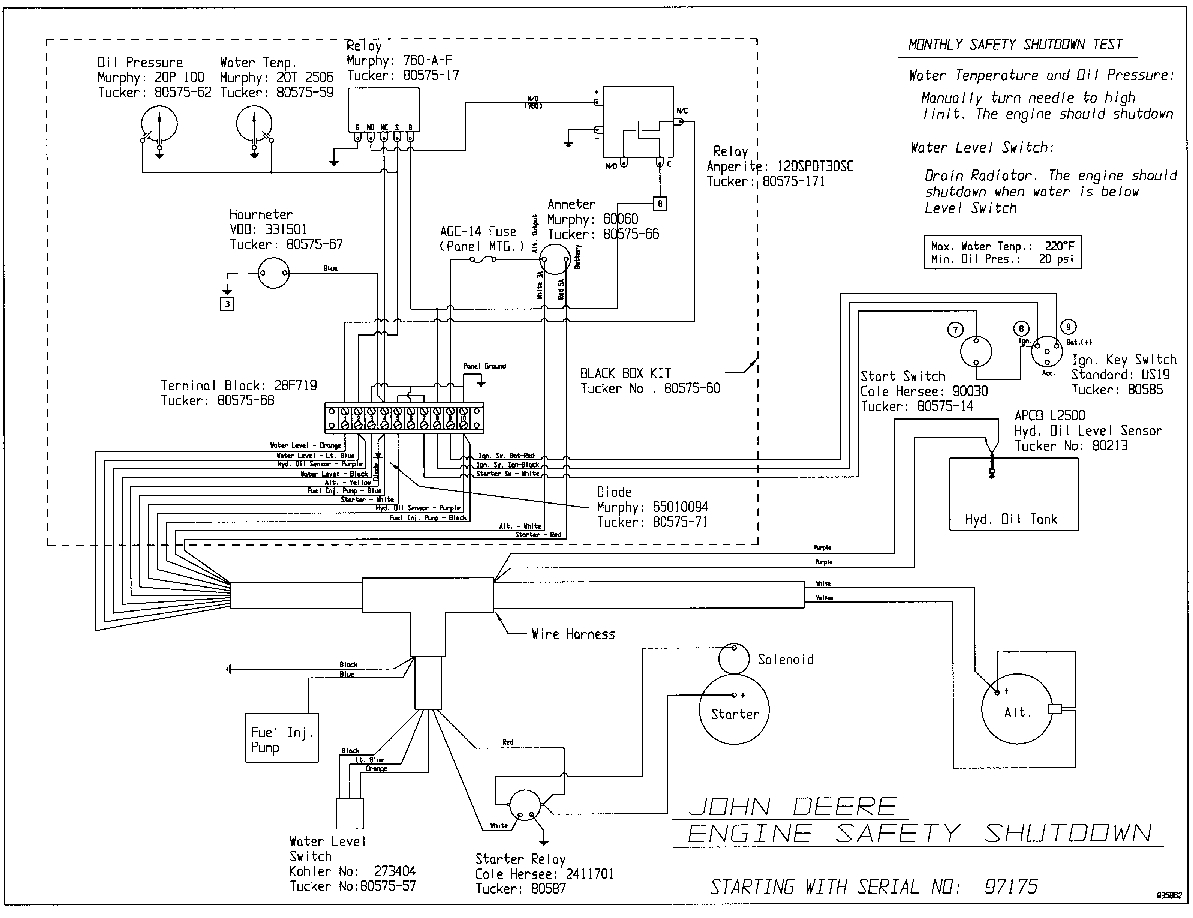 wiring diagram for john deere 110