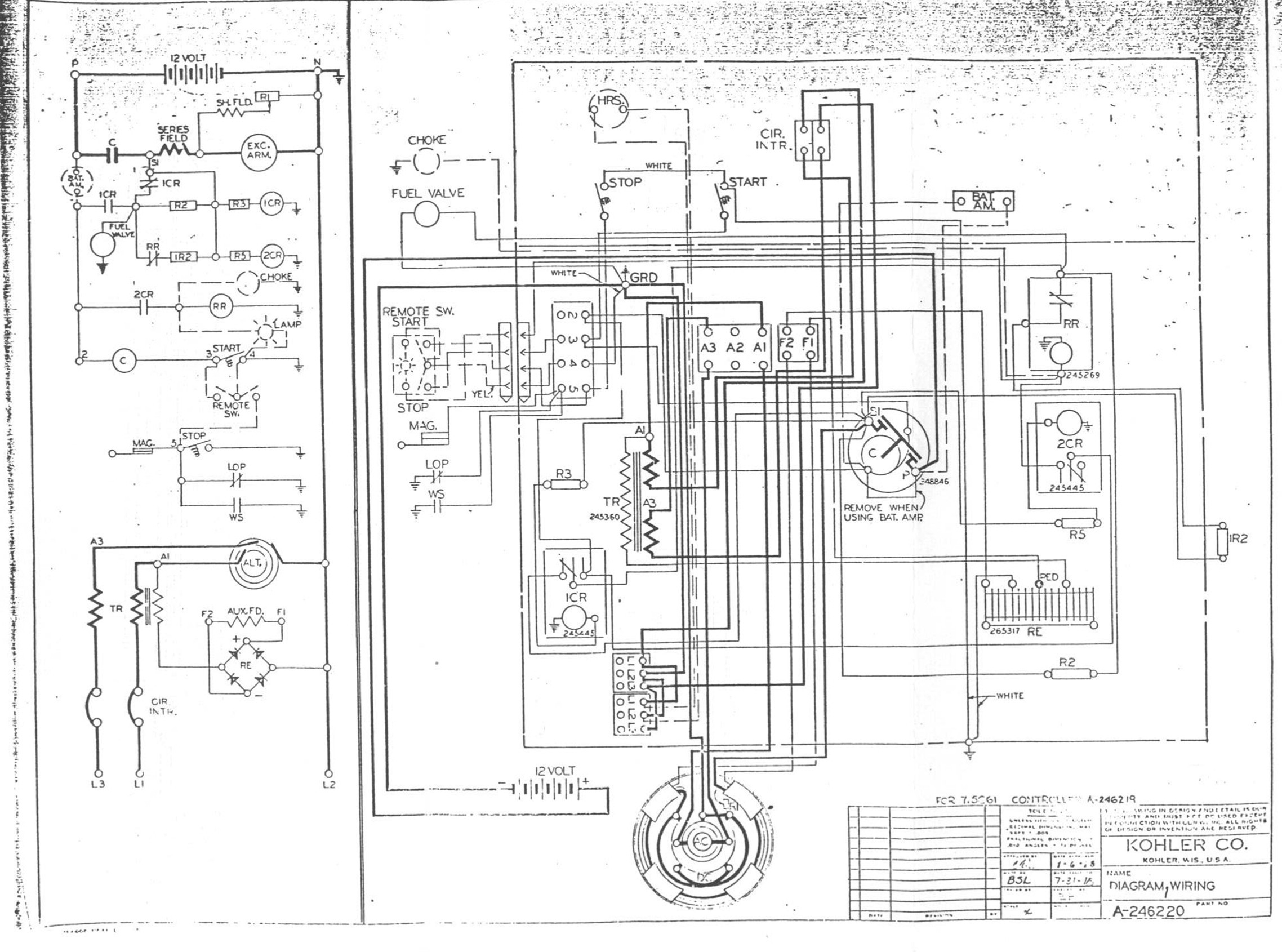 Kohler Ignition Wiring Diagram