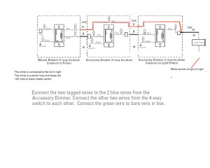 Lutron 4 Way Dimmer Wiring Diagram Collection