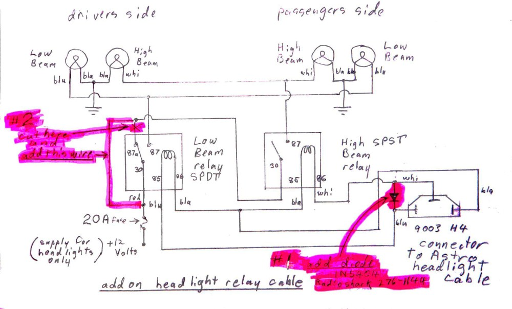 medium resolution of 2000 xterra fog light relay wiring diagram