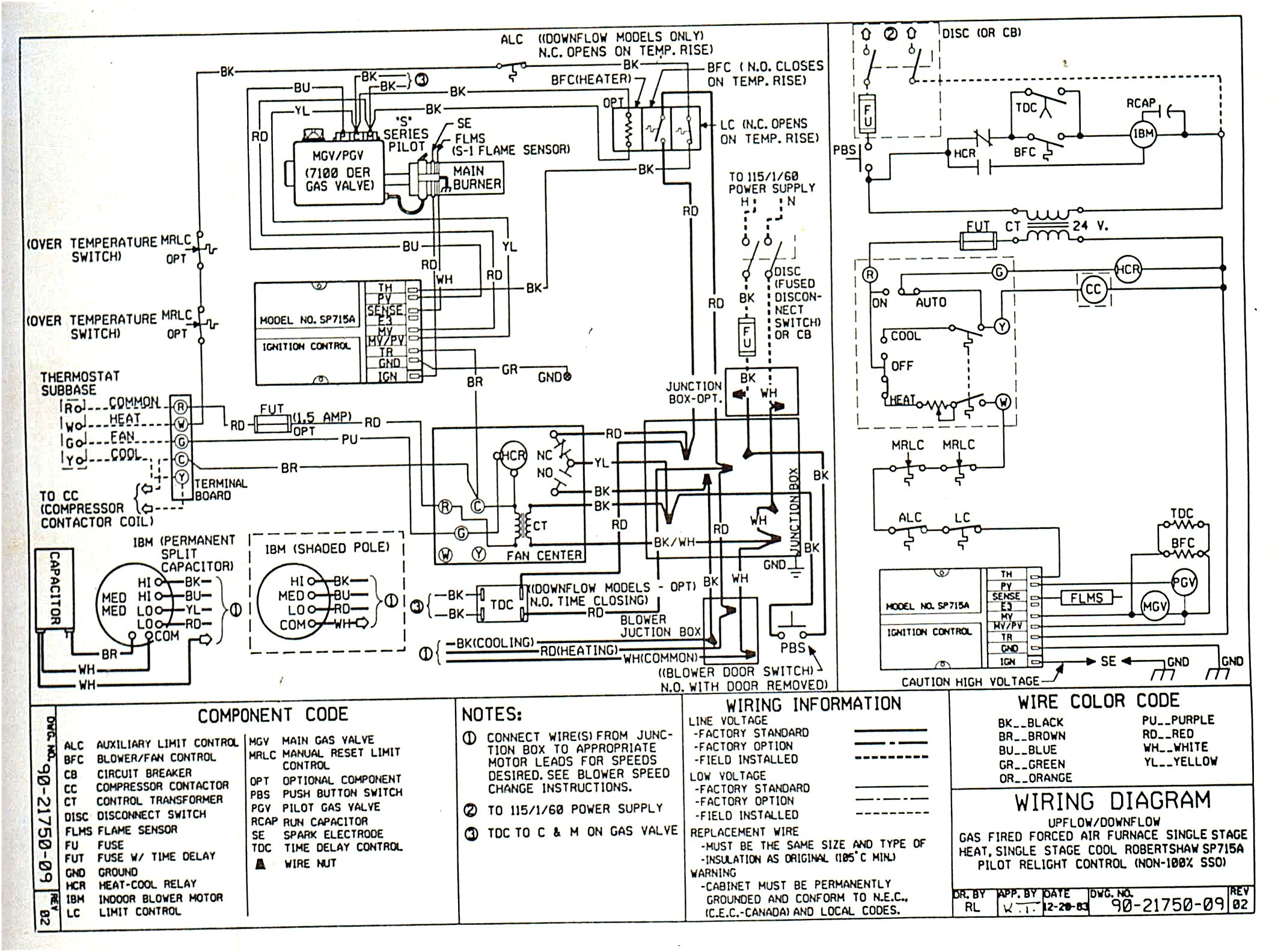 Nordyne Ga Furnace Wire Diagram