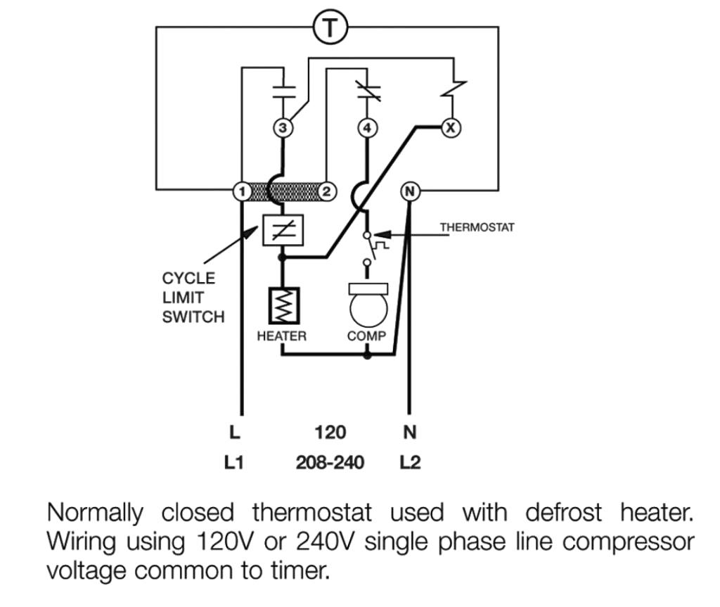 hight resolution of  paragon defrost timer 8145 20 wiring diagram gallery on 208v three phase power 208v 120