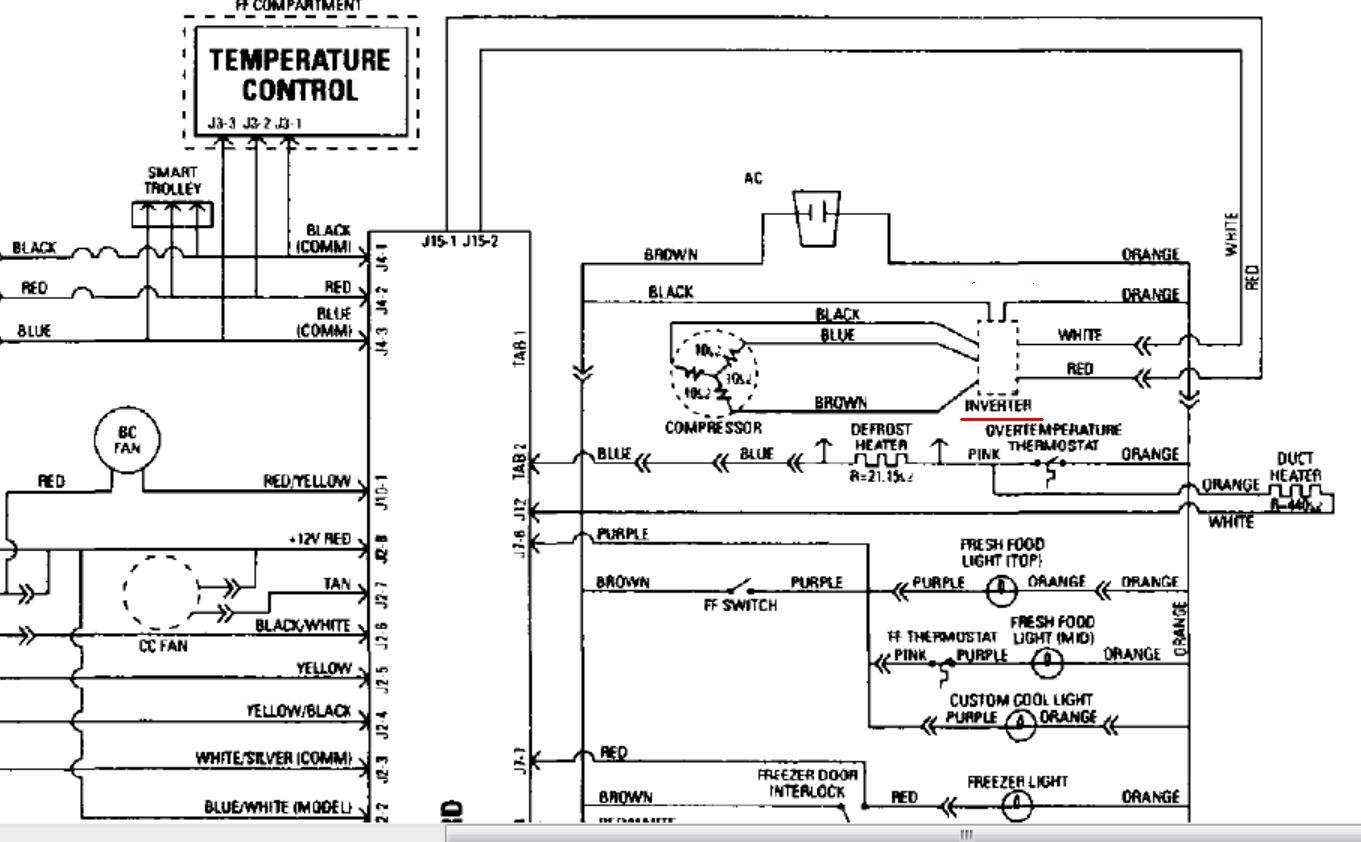 Samsung Refrigerator Wiring Diagram Collection