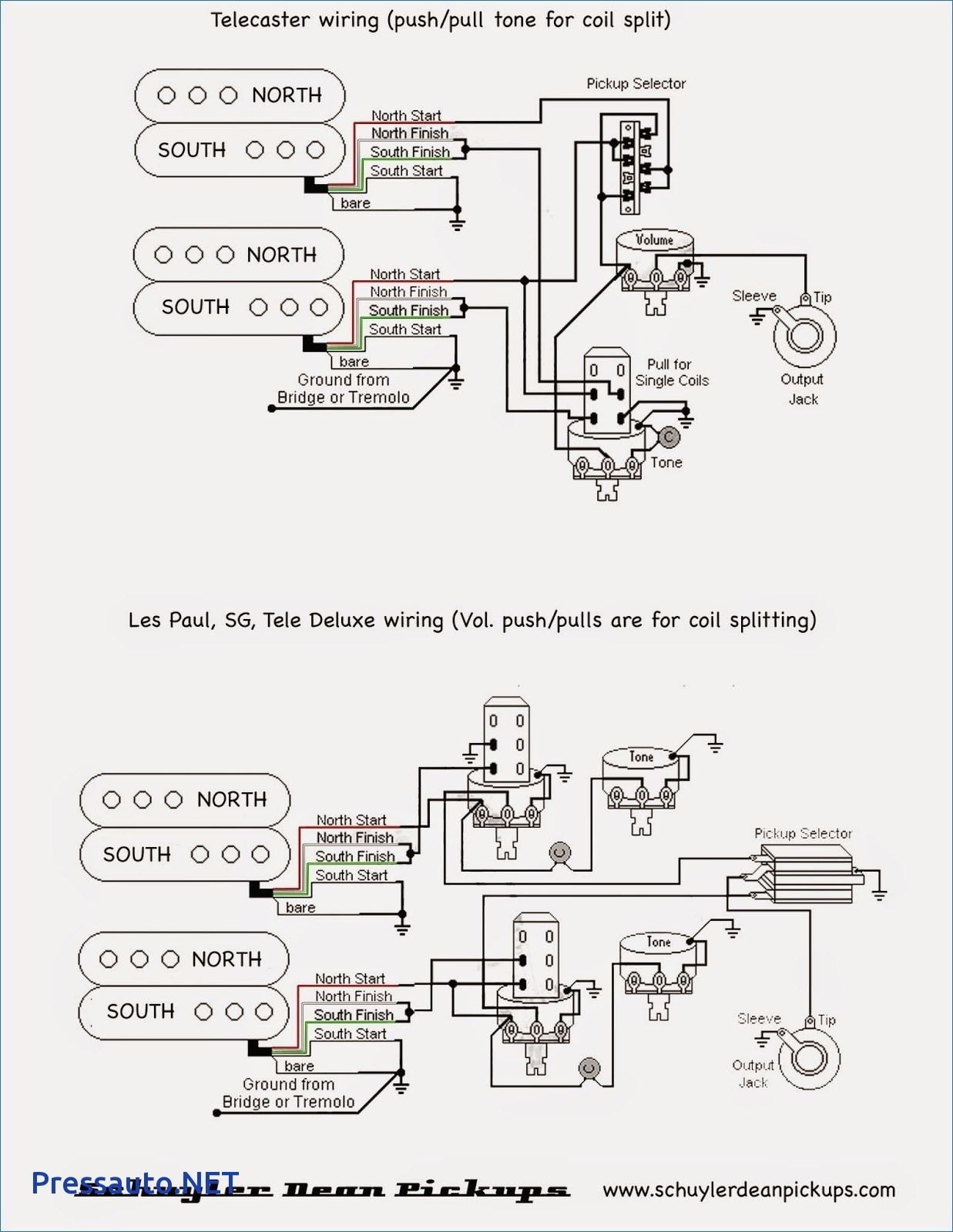 A B Switch Guitar Wiring Schematic