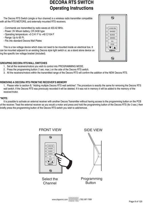 small resolution of  wall somfy blind motor wiring diagram gallery on light switch diagram wall wiring home speakers