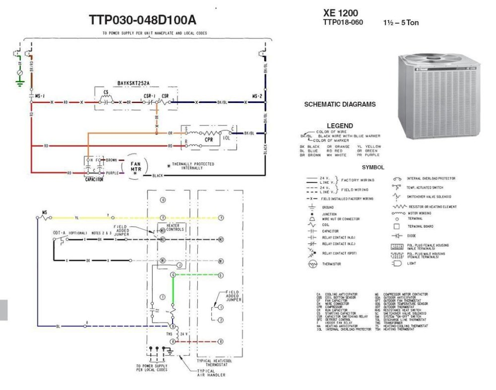 medium resolution of  trane thermostat wiring diagram sample on wiring diagram for baseboard thermostat wiring diagram for totaline